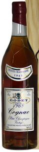 1968 Petite Champagne 34 years old; different label