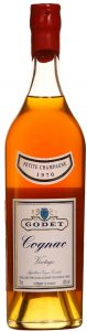 70cl 1970 petite champagne, with content and ABV stated