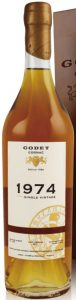 1974 single cask grande champagne 43 years old, 70cl; 40%