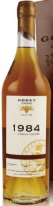 1984 single cask grande champagne 33 years old, 70cl; 40%