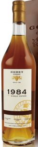 1984 single cask grande champagne 33 years old, 70cl; 53.9%