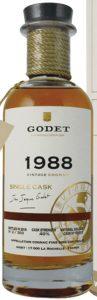1988 single cask fins bois, 30 years old, 70cl