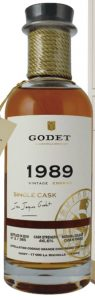 1989 single cask grande champagne 29 years old, 70cl
