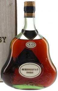 Content not stated; on the back: 70 proof, fine old liqueur brandy