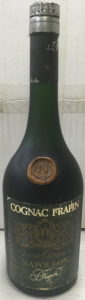 Shoulder blob and a silver coloured capsule (black scaled off?); no 'premier cru du cognac' stated between Grande Champagne and Napoleon; no content or ABV stated