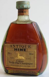 Tres Vieille Fine Champagne cognac; 70cl e stated; slightly different font, see the '%'-sign