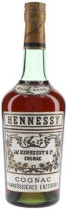 70cl (on the bottom); 'Cognac Französisches Erzeugnis' underneath
