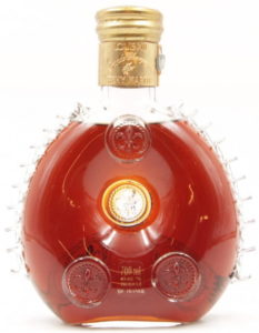 700ml stated; said to be St. Louis cristal, Australian import for Vignerons, Distillers & Vintners