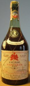 0,8 quart, very rare vsop; 'N aigle rouge' on the lower left