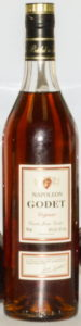 Cuvée Jean Godet, cognac printed in red