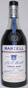 Liqueur brandy; imported by Martell: Far East Trading LTD., Hong Kong