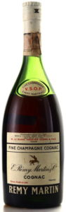 Fine champagne stated above VSOP; import data above the main label; 75cl stated on the back