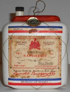 "75cl Very Rare Réserve, ""N"" Aigle Rouge; with colours of the French flag"
