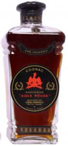 "Aigle Rouge, Age Inconnu; no content or ABV stated; ""N"" on shoulder"