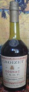 Italian import for Fratelli Cora, Torino; with aquavite di vino stated