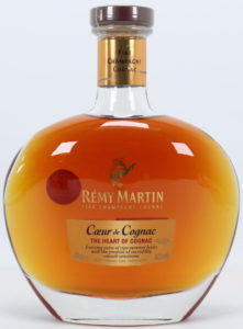 70cl; text in English; Bottom line: AOC Cognac Fine Champagne; with an UK sticker
