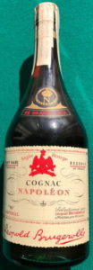 very rare reserve; 45 grands prix in red on a dark surface; 'N Imperial' on the lower left; 70cl not stated (1970s)