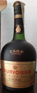 0,70L stated, with Courvoisier stated below VSOP, with a paper duty seal on top (est. 1970s)
