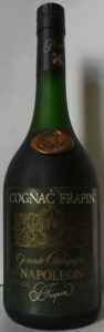 Shoulder blob and a silver coloured capsule; no 'premier cru du cognac' stated between Grande Champagne and Napoleon; 70cl and 40%Vol stated (1980s)