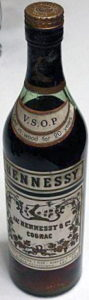 VSOP, aged in wood for 20 years; different capsule