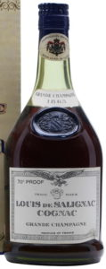 1865 grande champagne, 70 proof stated