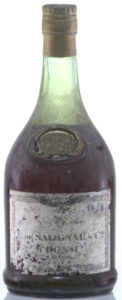 1878? the 1878 looks added and not genuine; Salignac never placed the year in a corner; underneath cognac is text: 'grande fine champagne' and below that there is some more text. Could be 'reserve empire'.