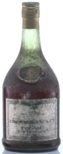 1893? the 1893 looks added and not genuine; Salignac never placed the year in a corner; underneath cognac is text: 'fine champagne', not grande fine champagne and below that there is some more text: 'Extra'