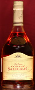 750ML, cognac stated above Salignac; yellow coloured label; imported by Domecq Importers Inc., Old Greenwich CT