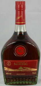 40%vol and 70cl stated; with a cotisation symbol
