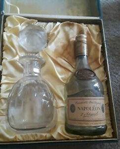 Napoleon with decanter