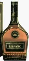 Napoleon above the emblem on the shoulder label; no content or ABV stated