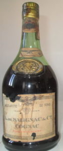 Napoleon, fine champagne; with aquavite di vino stated