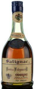 George V reserve, half bottle
