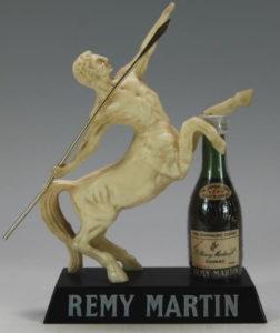 With miniature vsop bottle; qualité du Centaure (1960s)