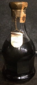 Grande fine champagne (prob. napoleon grade), Italian import, Wax & Vitale (1960s)