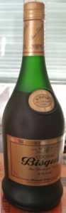 70cl stated, much more brown-bronze coloured label; VSOP on shoulder label curved