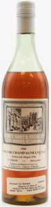 1940, bottled 1976; white cap (Berry Br. & Rudd); with a sticker of the importer: Fine Wine Imports