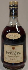 VSOP Liqueur cognac, Asian import; smooth cap; on the back is an additional label with Asian characters