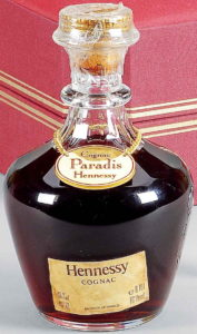 70cl Paradis with paper label
