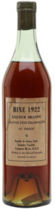 1922 Liqueur Brandy; Smith & Hoey Ltd.