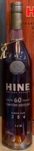 1953 single cask, 60 yo (bottled 2014)