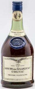 1865 grande champagne, blue capsule and blob