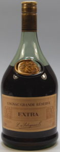 Grande Réserve Extra, 1.38L and 40°stated; screw cap