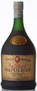 Napoleon magnum, 1.5L with red and gold embleme; Taittinger import