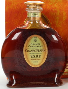 70cl and 40%Vol stated; engraved glass; in stead of 'premier grand cru du cognac' only 'premier grand cru' is stated