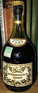 VSOP - brandy, US import by Schieffelin (Michigan tax seal); 1950s