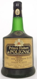 On shoulder label: Fine Champagne above VSOP Cognac; stated is 70proof, 68cl and 24 fl.oz (end 1970s); produce of France