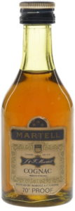 5cl (not stated); 70° PROOF (1970s)