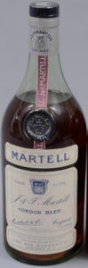 80 proof stated; Joseph Garneau import, prob 750ml (1969-1975)