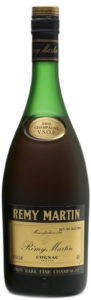 Underneath is written: 'Tres Rare Fine Champagne'; 70cl not stated; Duty Free Sales Only (1980s )